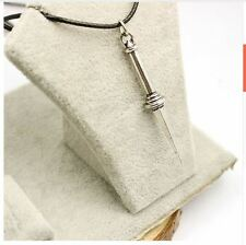 Supernatural Angel Sword Dagger High Quality Vintage Rope Leather Necklace