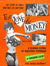 "For Love and Money  Movie Poster Replica 14 x 11"" Photo Print"