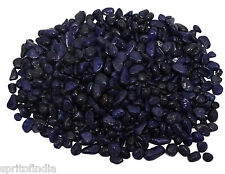 Aquarium water Purple color C Size gravel 1kg stone pebbles chips decoration