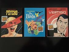 Alfred Hitchcock DVD Lot The Birds, Vertigo & Psycho Collectible Pop Art Series