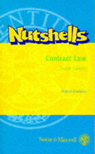 Contract Law (Nutshell), , Very Good Book