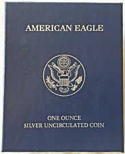 2011 AMERICAN SILVER EAGLE ONE DOLLAR WITH MINT BOX AND COA. .999 FINE