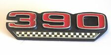 """""""390"""" Emblem for 1970 AMC V8 only, raised numbers not painted, just chromed, NEW"""