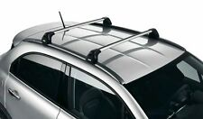 Fiat 500x Par De bloqueable Barras De Techo Nuevo + Genuino 50927231