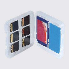 8 Slots Box Storage Case Holder For Micro SD TF SDHC MSPD Memory Card Protecter