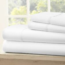 Egyptian Comfort 1800 Count Deep Pocket 4 Piece Bed Sheet Set