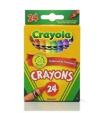 Crayola Crayons 24 Count Box- (6-pack), New