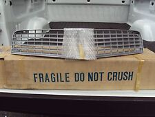 NOS 1980 1981 Camaro grille Silver #14010457 New Old Stock