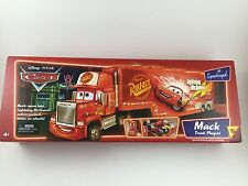 Disney Pixar Cars Supercharged Mack Truck Playset