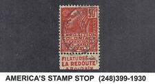 1930-1931 France 259 260 272 490 - Expo La Redoute Publicite Tab Booklet Used*