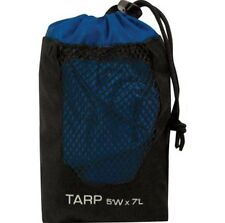 5 x 7 Backpacker's Tarp, Ultralight 8oz, use as Footprint Sun Shade Ground Cloth