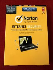 (Brand NEW Sealed Box) Norton Internet Security (with Anti-Virus) 3PC, 1Year