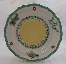 Villeroy & and Boch FRENCH GARDEN CHRISTMAS - rimmed soup / dessert bowl 20.5cm