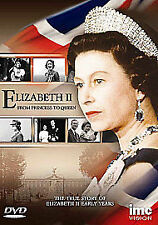 Elizabeth II. From Princess to Queen. NEW and SEALED. Dvd. Queen Elizabeth 2nd