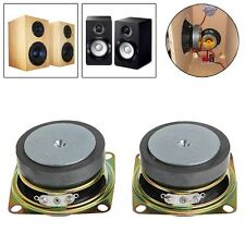 "2pcs 2"" inch 53mm 4Ohm 3W Full Range Audio Speaker Stereo Woofer Loudspeaker"