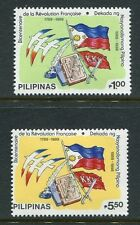 Philippines 2000-2001, MNH.French Revolution Bicentennial & Decade 1989