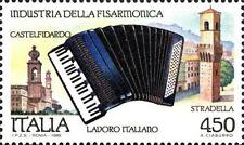 # ITALIA ITALY - 1989 - Fisarmonica - Musical Instruments - Stamp MNH