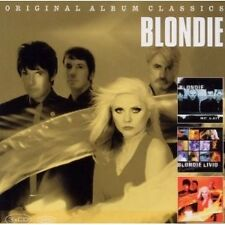 "BLONDIE ""ORIGINAL ALBUM CLASSICS"" 3 CD NEU"