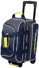 Storm 2 Ball Streamline Roller Bowling Bag with Wheels Color Navy & Grey NEW