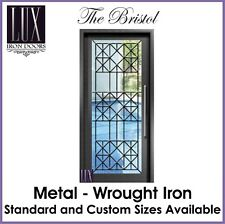 LUX Wrought Iron Doors - The Bristol - All Metal -  FREE DELIVERY AUSTRALIA
