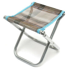 Aluminum Folding Chair Stool Portable Oxford Cloth Outdoor Patio Fishing Camping