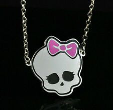 Monster High Pendant Chain Steel Necklace Fashion Boy Girl Lady LZ17