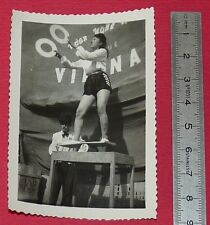 PHOTO ARGENTIQUE INDOCHINE 1950 CIRQUE VIETNAMIEN COCHINCHINE COLONIES FRANCE