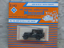 Roco / Herpa Minitanks (NEW) WWII US M-38 A1 Willys Jeep W/Canopy Lot 230K