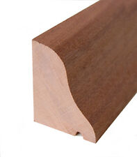 Hardwood Weather Pioggia barra DEFLECTOR Drip MUFFA LEGNO PORTA 1100mm Sapele