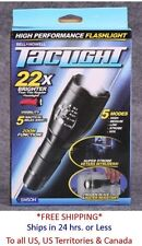NEW BELL & HOWELL Taclight High-Powered Tactical Flashlight 22X Brighter