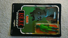 Star Wars Rare Vintage PBP ROTJ Greedo MOC 77back