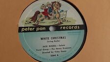 Jack Russell - 78rpm single 10-inch –Peter Pan #2264 White Christmas