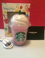 Cute Pink Starbucks Portable USB Power Bank 5200mAh Phone Charger Backup Battery