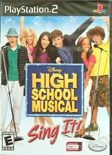 High School Musical: Sing It! (game only) PlayStation 2   New  Free USA Shipping