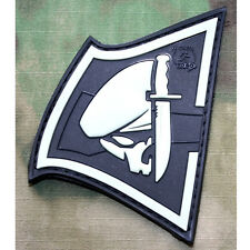 PATCH JTG 3D GOMME REBEL SKULL LUMINESCENT PAINTBALL AIRSOFT MILITAIRE INSIGNE