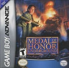 Nintendo GameBoy Advance GBA Game Cartridge MEDAL OF HONOR UNDERGROUND