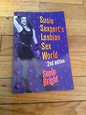 Susie Sexpert's Lesbian Sex World 2nd Edition Sexy Erotic Stories Juicy Book SC