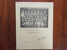 DAN  STEFFEN  Signed  1983-84  Carroll  College  Women's  Basketball   Summary