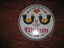 """24"""" PA Dutch Hex sign-Double Welcome (H-29) Made In The USA"""