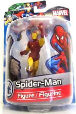 Monogram Marvel Iron Man Collectible Figure In Spiderman Packaging, Rare Mistake