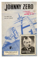 Jack Payne-Johnny Cero música Hoja 1943 / ww11