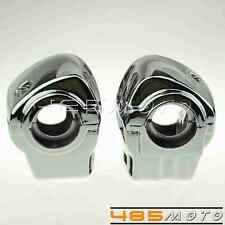 Chrome Switch Housings Cover For 1996-2012 Harley Davidson Electra Glide FLHTCU