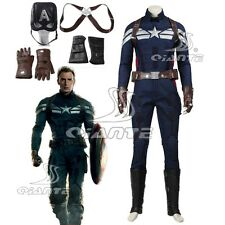 Captain America 2 Steve Rogers Cosplay Costume Custom Made Any Size