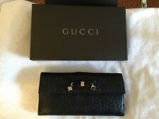 Gucci Black Leather Wallet - *Genuine & Brand New*