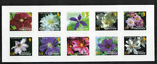 Guernsey 2004 Clematis Flowers self-adhesive shlt--Attractive Topical (826a) MNH