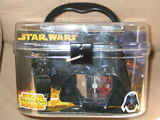STAR WARS Buildable Watch Alarm Clock With DARTH MAUL Gift Set
