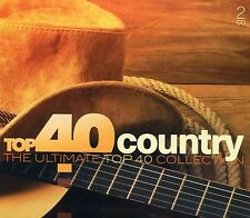 Top 40 Country : The Ultimate Top 40 Collection (2 CD)