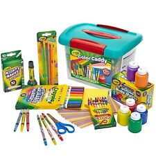 Crayola Color Caddy 120 Pieces Draw Paint Set Kids With Crayons Pencils Markers