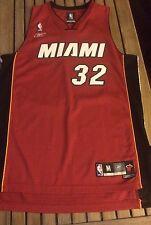 Shaquille O'neal Miami Heat NBA Jersey Men M Sewn Reebok Vtg #32 Wade Mourning