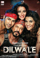 DILWALE *2015 - OFFICIAL 2 DISC BOLLYWOOD DVD [SHAH RUKH KHAN] - FREE POST